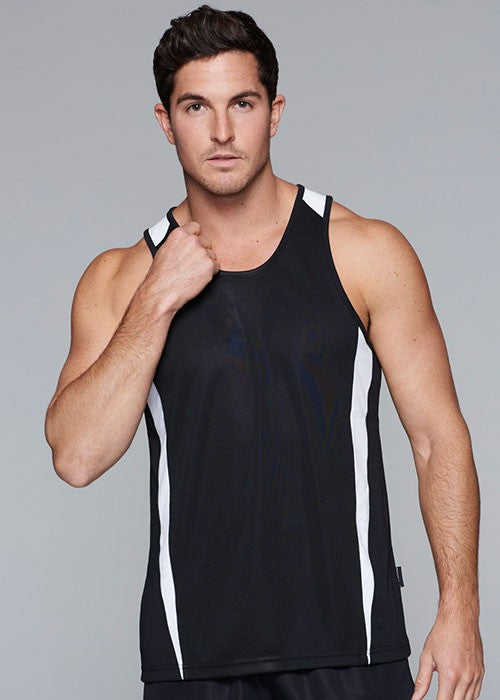 Aussie Pacific Eureka mens singlet 1st ( 14 Colour ) (1104)