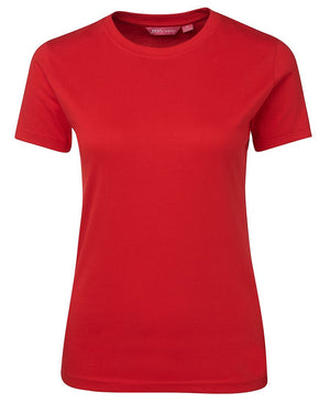 JB's Wear-JB's Ladies Fitted Tee-Red / 8-Uniform Wholesalers - 10