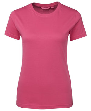 JB's Wear-JB's Ladies Fitted Tee-Pink / 8-Uniform Wholesalers - 7