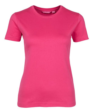 JB's Wear-JB's Ladies Fitted Tee-Hot Pink / 8-Uniform Wholesalers - 6
