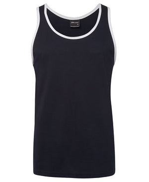 JB's Wear-Jb's Singlet - Adults-Navy/White / S-Uniform Wholesalers - 5
