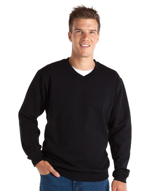 JB's Wear-JB's V-Neck Fleecy Sweat--Uniform Wholesalers - 3