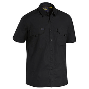 Bisley Mens X Airflow™ Ripstop Work Shirt Short Sleeve (BS1414)