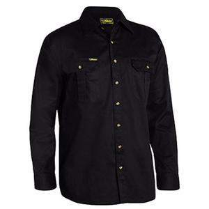 Bisley Original Cotton Drill Shirt - Long Sleeve (BS6433)