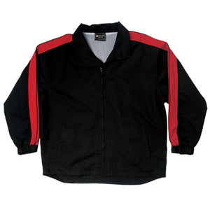Bocini-Bocini Unisex Track-Suit Jacket-Black/Red / S-Uniform Wholesalers - 2