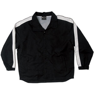 Bocini-Bocini Unisex Track-Suit Jacket-Black/White / S-Uniform Wholesalers - 3