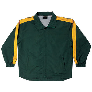 Bocini-Bocini Unisex Track-Suit Jacket-Bottle Green/Gold / S-Uniform Wholesalers - 6