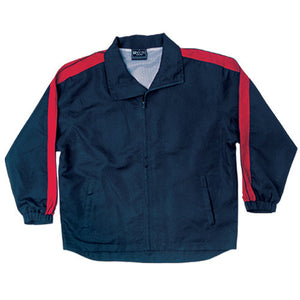 Bocini-Bocini Unisex Track-Suit Jacket-Navy/Red / S-Uniform Wholesalers - 7