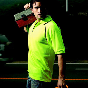 Bocini-Bocini Hi-Vis Breezeway Polo--Uniform Wholesalers - 1