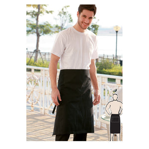 Bocini-Bocini 3 Quarter Apron No Pocket--Uniform Wholesalers - 1