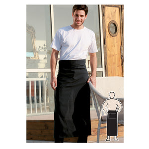 Bocini-Bocini Continental Apron No Pocket--Uniform Wholesalers - 1