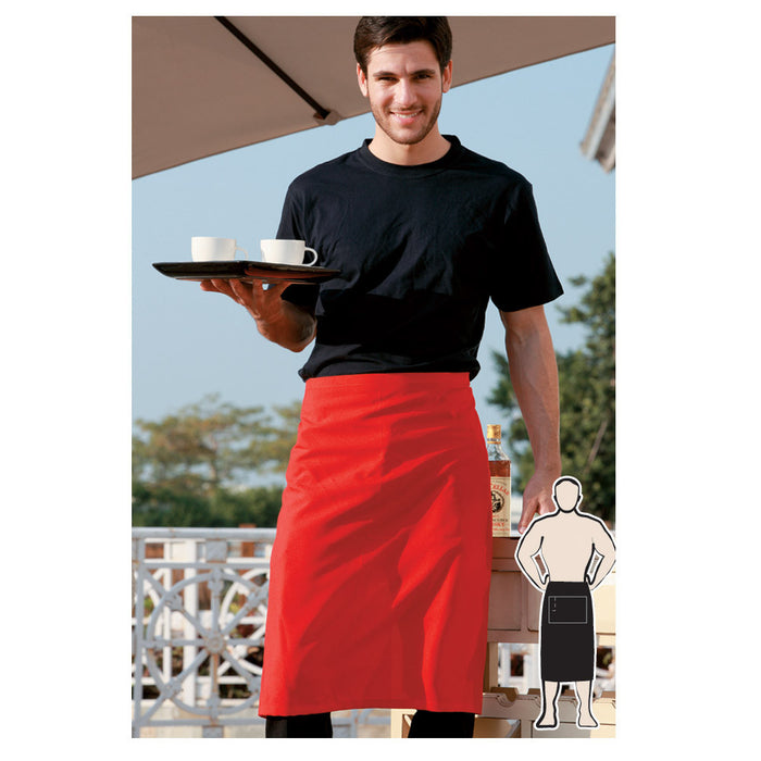 Bocini 3 Quarter Apron No Pocket-(WA0654)