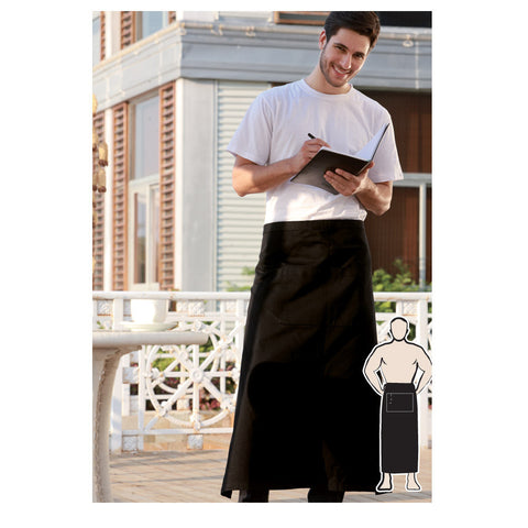 Bocini-Bocini Continental Apron With Pocket--Uniform Wholesalers - 1