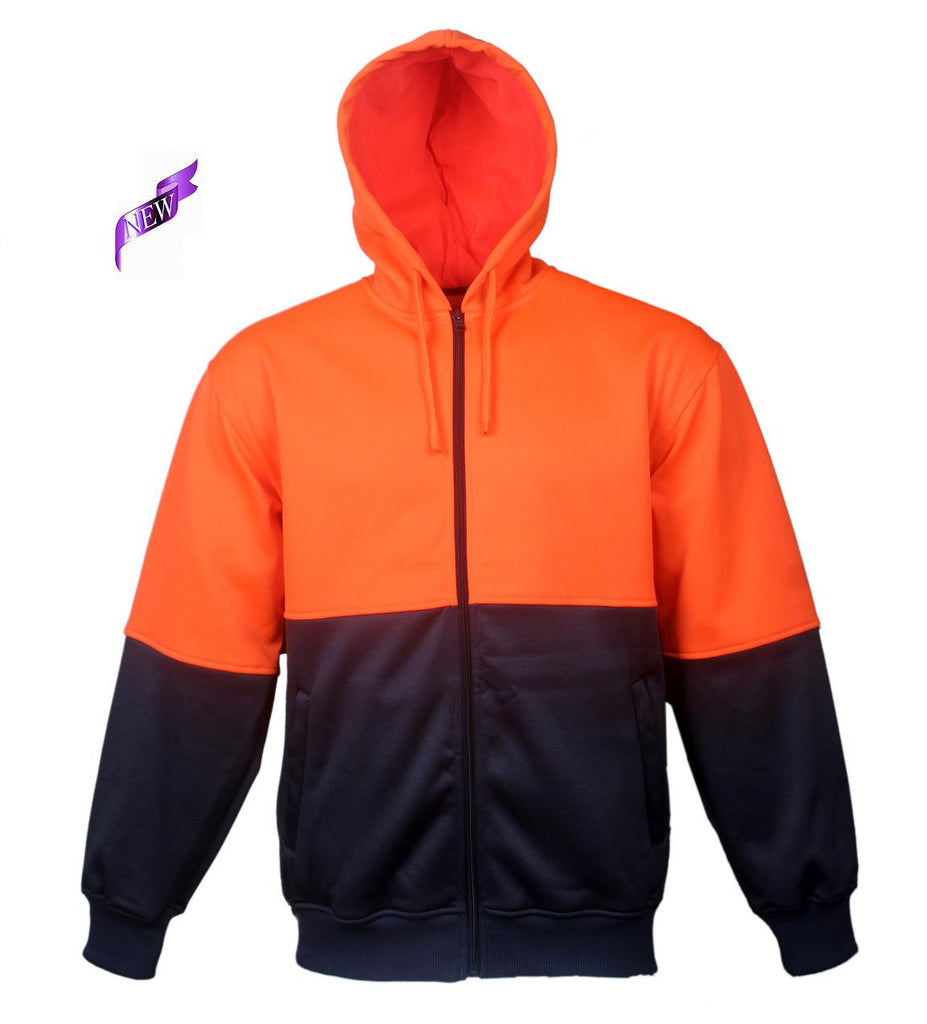 Bocini-Bocini Hi-Vis Fleece Jacket--Uniform Wholesalers - 2