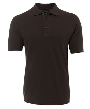 JB's Wear-Jb's Adult  210 Polo -1st ( 12 color )-Chocolate / S-Uniform Wholesalers - 6