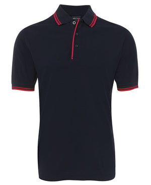 JB's Wear-Jb's Contrast Polo - Adults 2nd ( 11 Color )-Navy/Red / S-Uniform Wholesalers - 5