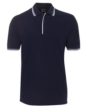 JB's Wear-Jb's Contrast Polo - Adults 2nd ( 11 Color )-Navy/White / S-Uniform Wholesalers - 6