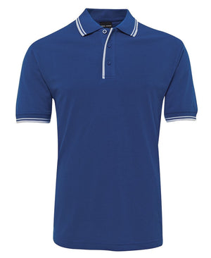 JB's Wear-Jb's Contrast Polo - Adults 2nd ( 11 Color )-Royal/White / S-Uniform Wholesalers - 11