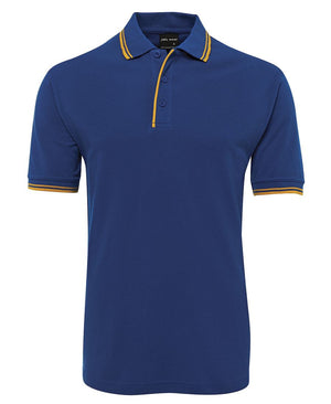 JB's Wear-Jb's Contrast Polo - Adults 2nd ( 11 Color )-Royal/Gold / S-Uniform Wholesalers - 10
