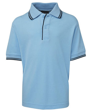 JB's Wear-JB's Kids Contrast Polo-Light Blue/Navy / 4-Uniform Wholesalers - 9