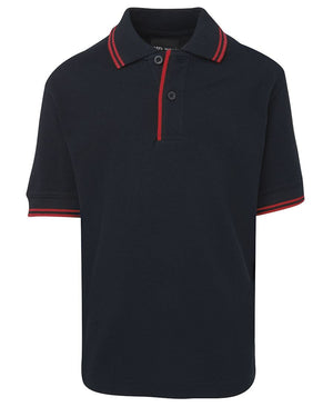 JB's Wear-JB's Kids Contrast Polo-Navy/Red / 4-Uniform Wholesalers - 11