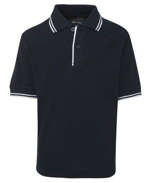 JB's Wear-JB's Kids Contrast Polo-Navy/White / 4-Uniform Wholesalers - 12