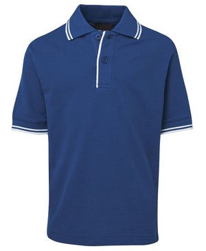 JB's Wear-JB's Kids Contrast Polo-Royal/White / 4-Uniform Wholesalers - 14