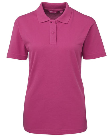 JB's Wear-JB's Ladies 210 Polo 2nd ( 6 Color )-Hot Pink / 8-Uniform Wholesalers - 2