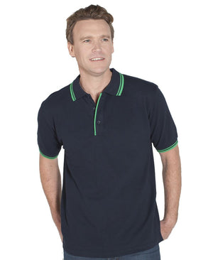 JB's Wear-Jb's Contrast Polo - Adults 2nd ( 11 Color )--Uniform Wholesalers - 1