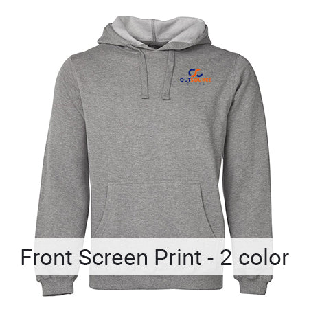 Front Pocket Size- 2 Colour Print