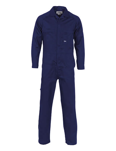 DNC Lightweight Cool-Breeze Cotton Drill Coverall (3104)