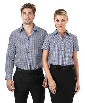 identitee-Identitee Ladies Hudson S/S--Uniform Wholesalers - 1