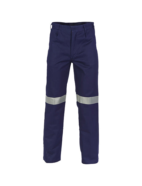 DNC Cotton Drill Trousers with 3M R/T (3314)