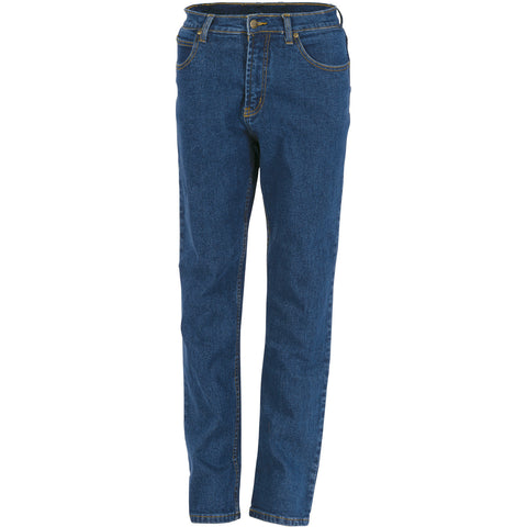 DNC Workwear-DNC Ladies Denim Stretch Jeans-8 / Blue-Uniform Wholesalers