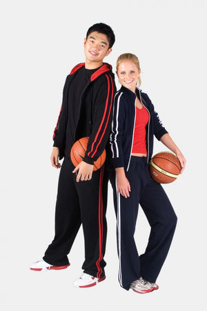 Ramo-Ramo Ladies Striped Track Pants--Uniform Wholesalers - 1