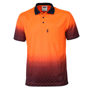 DNC HiVis Sublimated Diamond Plate Polo (3552)