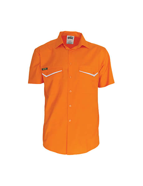 DNC HiVis RipStop Cotton Cool Shirt, S/S (3583)