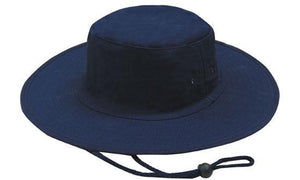 Headwear-Headwear Canvas Hat-Navy / S-Uniform Wholesalers - 3