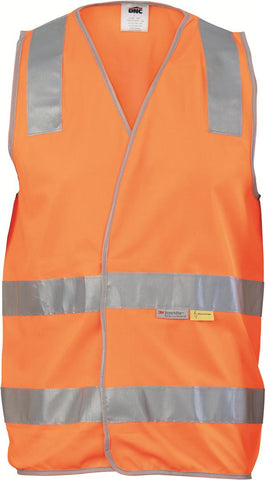 DNC Workwear-DNC Day & Night HiVis Safety Vest--Uniform Wholesalers - 1