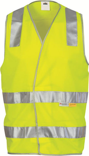 DNC Workwear-DNC Day & Night HiVis Safety Vest--Uniform Wholesalers - 2