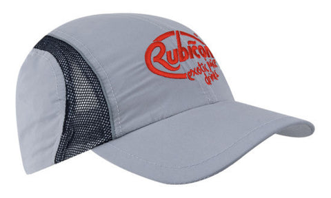 Headwear-Headwear Micro Fibre & Mesh Sports Cap with Reflective Trim Cap--Uniform Wholesalers - 1