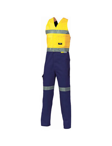 DNC HiVis Cotton Action Back with 3M R/T (3857)