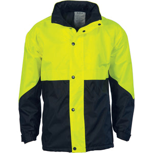 DNC Workwear-DNC HiVis Two Tone Classic Jacket > 300D-S / Yellow/Navy-Uniform Wholesalers - 2