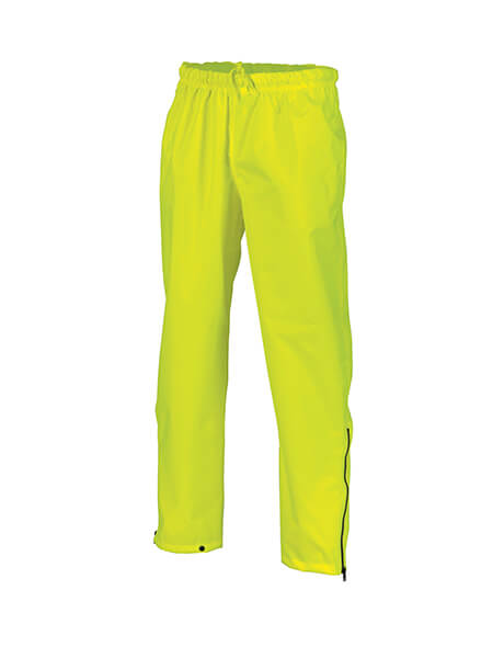 DNC HiVis Breathable Rain Trousers (3874)