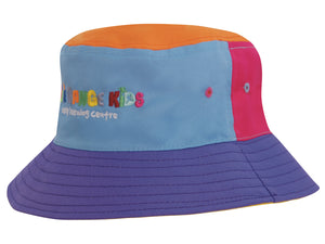 Headwear Breathable Poly Twill Childs Bucket Hat (3941)