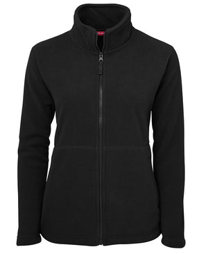JB's Wear-JB's Ladies Full Zip Polar-Black / 8-Uniform Wholesalers - 2
