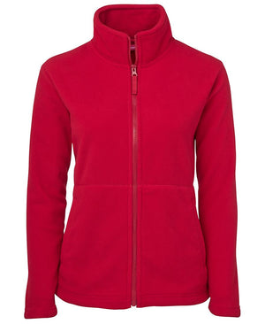 JB's Wear-JB's Ladies Full Zip Polar-Red / 8-Uniform Wholesalers - 6
