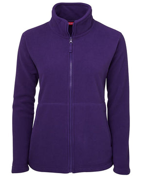 JB's Wear-JB's Ladies Full Zip Polar-Purple / 8-Uniform Wholesalers - 5
