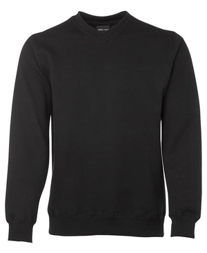 JB's Wear-JB's V-Neck Fleecy Sweat-Black / S-Uniform Wholesalers - 2