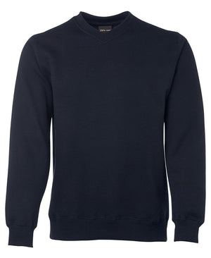 JB's Wear-JB's V-Neck Fleecy Sweat-Navy / S-Uniform Wholesalers - 4